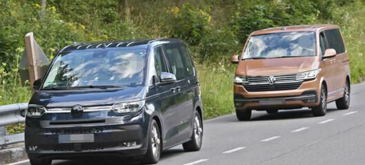 Volkswagen avslører mer av nye T7