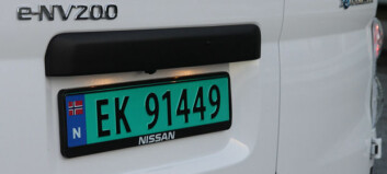 Gratis bompassering for elvarebiler senest 1. januar 2021