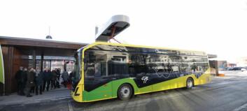 Fortsetter utrullingen av elbusser