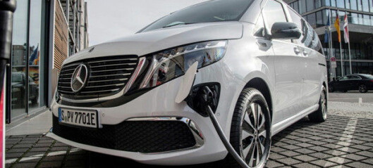 Mercedes-Benz EQV: Nå starter salget i Norge