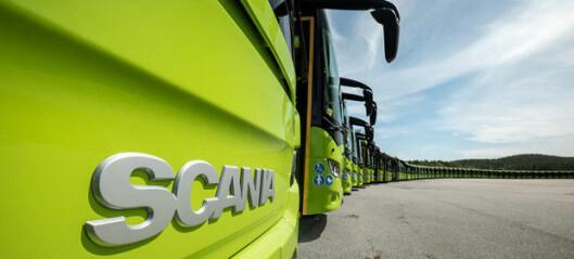 Rekordstor leveranse fra Scania til Vy