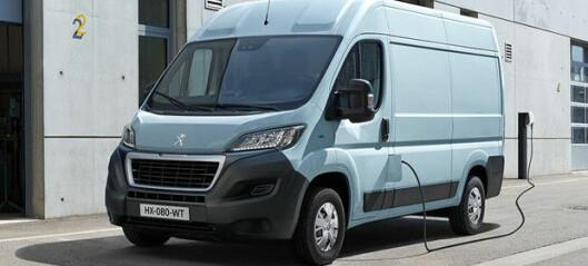Elektriske Peugeot e-Boxer kommer til Norge i år