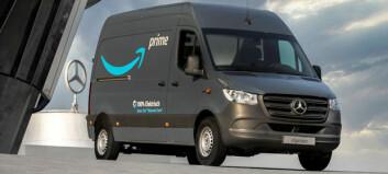 1.500 el-Mercedes til Amazon