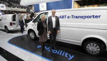 Dropper el-versjoner av Caddy og Transporter i Norge