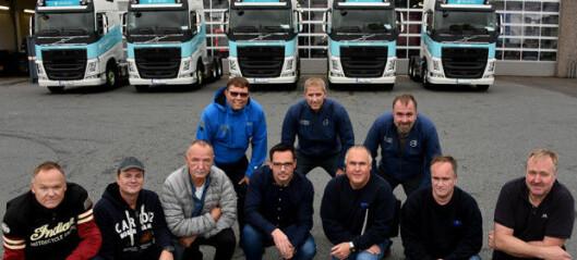 Storhandel av nye Volvo FH