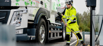Tester tunge elektriske anleggsbiler