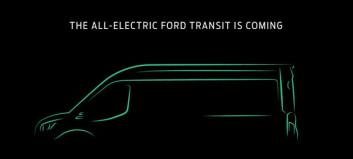 Elektrisk Transit klar i november