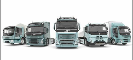 Lover «komplett utvalg» el-lastebiler i 2021