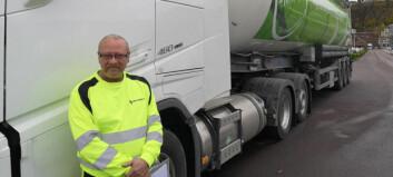 Langdistanse på flytende biogass