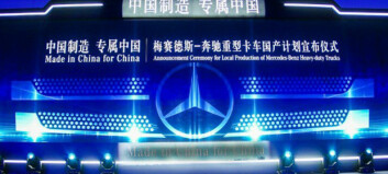 Mercedes-Benz lastebiler «Made in China, for China»