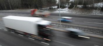 Risikoen for tungbilulykker nær halvert