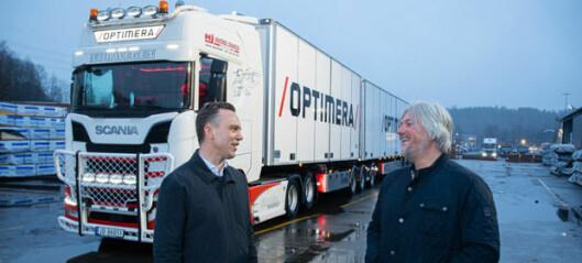 Slik skal de øke effektiviteten på varetransporten
