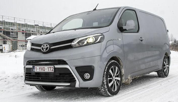 Prøvekjørt: Elektrisk fra Toyota