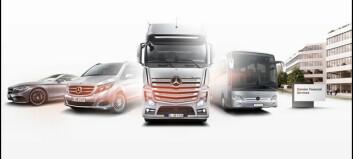 Mercedes last blir selvstendig