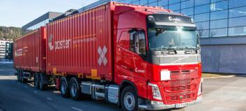 Første Posten-bil på flytende biogass