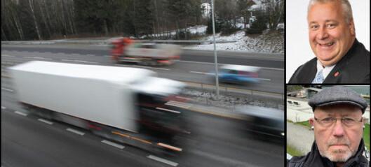 Krever svar på hvordan statsråden vil bekjempe transportkriminalitet