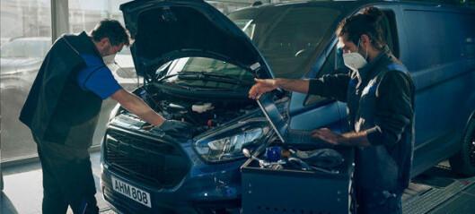 Slik skal Ford redusere ikke-planlagt nedetid