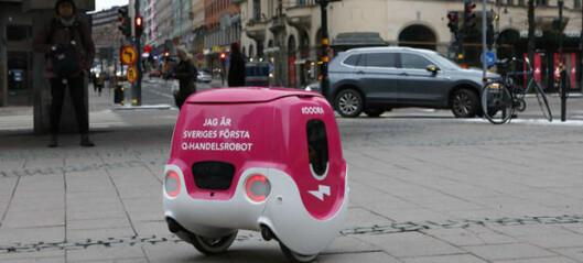 Robotlevering i Stockholm