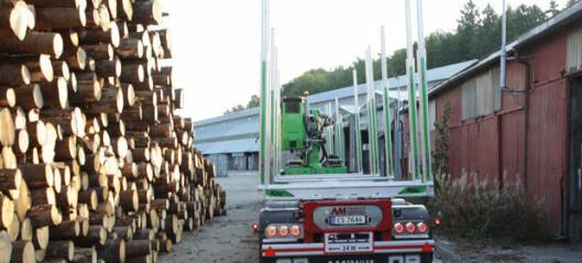 Oppgraderer fylkesveier for tømmertransport