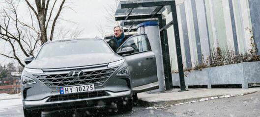 Kjøper Ruters hydrogenstasjon - vil serve hydrogenlastebiler