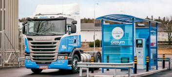 Åpner fyllestasjon for gass i Trondheim