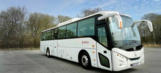 Boreal med elektrisk klasse III-buss