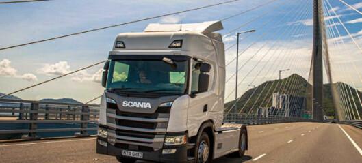Tester smartere Scania i Hong Kong