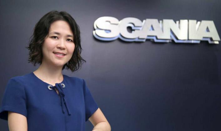 Venessa Wong<br>Venessa Wong, direktør for forretningsutvikling hos Scania China. <br>