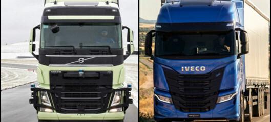 Volvo og Iveco med selvstyre-aktivitet
