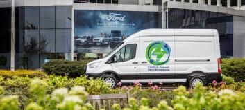 Ford velger Norge som ett av tre testland