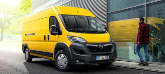 Ny Opel Movano på velkjent plattform