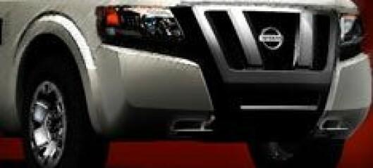 Groovy vare-Nissan