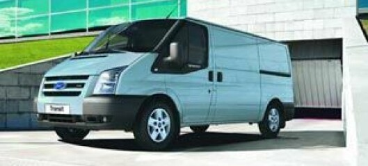 Ford setter ny Transit på vent