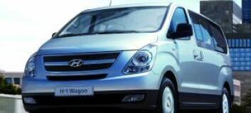5 års garanti på Hyundai H1