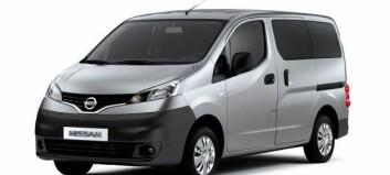 Pris til Nissan NV200