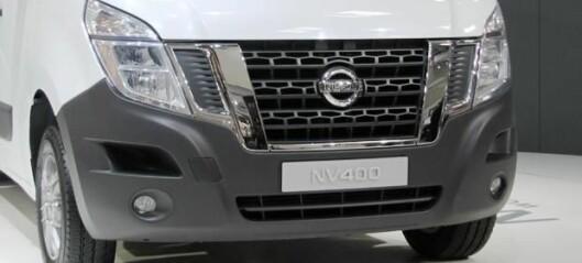 Nissans digre NV400 nærmer seg