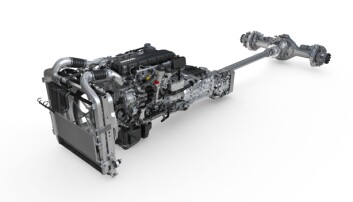 MX-13 drivlinjen uten innpakning.