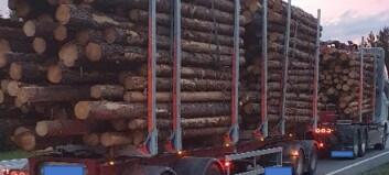 16,8 tonn overlast på fire blanke drivhjul – og med kollegaens skive