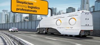 Tyske transportører: Redde for å havne i digital baklekse