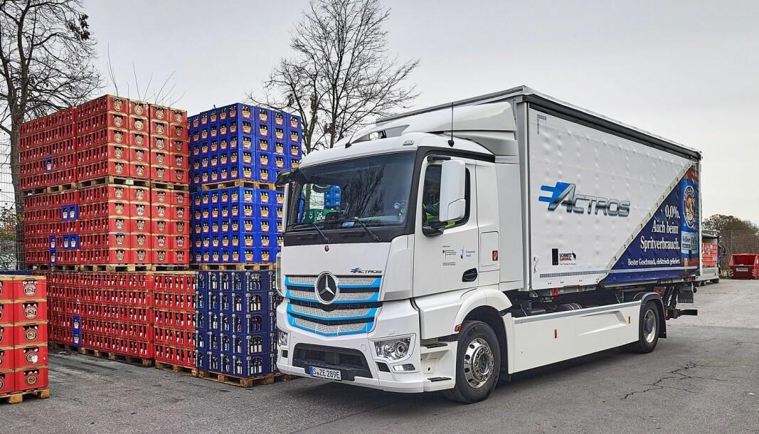 Produksjonsversjonen av Mercedes-Benz eActros lanseres 30. juni. Norge er et av 12 prioriterte markeder.