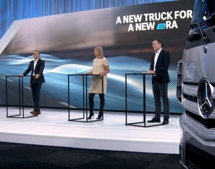 Dobbelt premiere hos Daimler. Karin var best