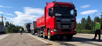 Tungbilkontroller gir økt sikkerhet