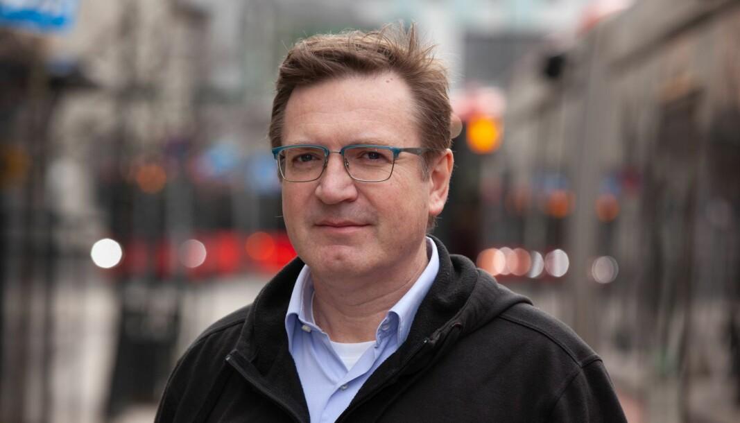 Generalsekretær i Yrkestrafikkforbundet Trond Jensrud.