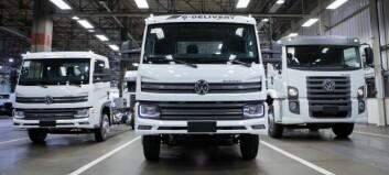 14-tonner og elektrisk fra VW