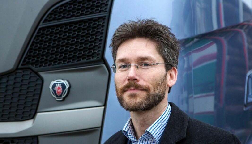 Henrik Wentzel, seniorrådgiver ved produktplanlegging i Scania, mener de sertifiserte CO2-verdiene som EU publiserer er den mest rettferdige måten å sammenligne utslipp mellom produsenter på.
