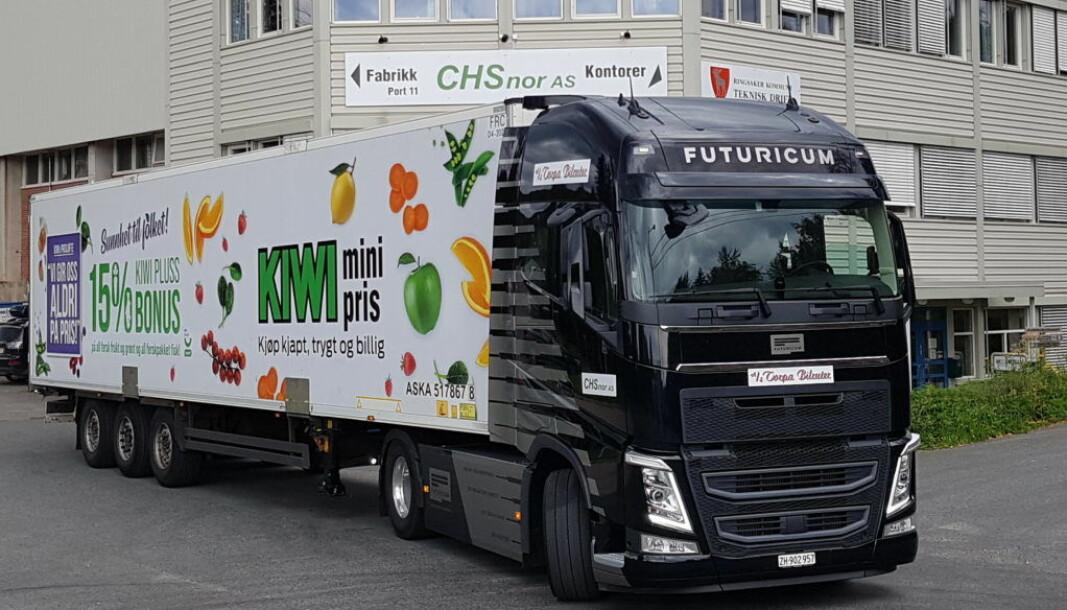 Som en del av Grønt Landtransportprogram, som er et offentlig - privat samarbeid mellom næringslivet og staten ved Klima- og miljødepartementet, rullet Asko nylig den elektriske trekkvognen «Emma» ut på norske veier.