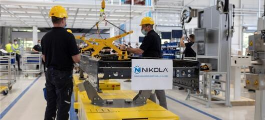 Nikola åpner fabrikk i Tyskland og velger Bosch som partner
