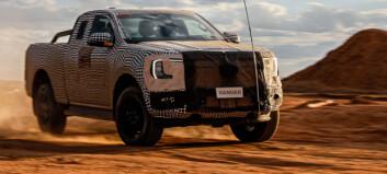 Offisielle lekkasjebilder av nye Ford Ranger