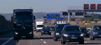 Tyske motorveier godt over før-pandemi nivå
