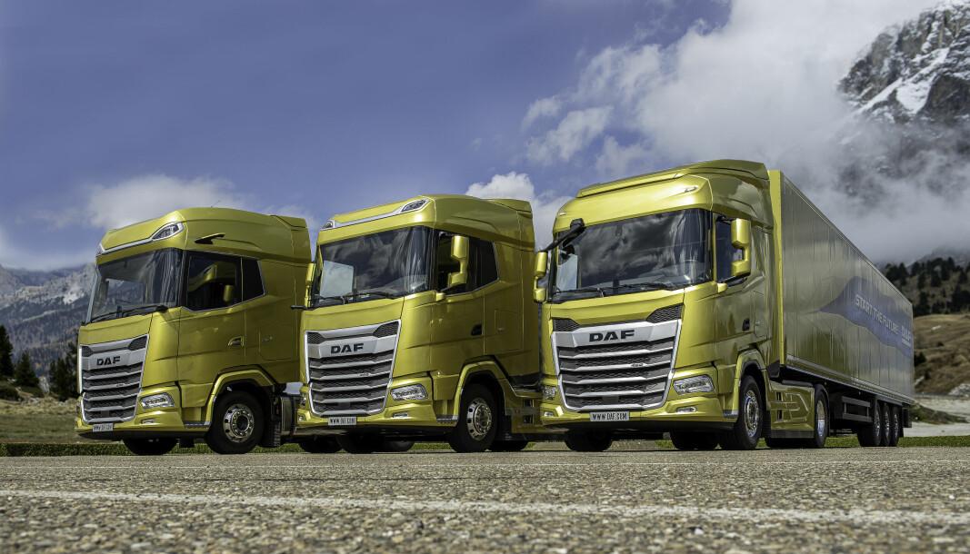 Den nye lastebilserien fra DAF har knapt kommet ut på veien. Nå meldes det om sterk misnøye med produsenten blant tyske DAF-forhandlere.